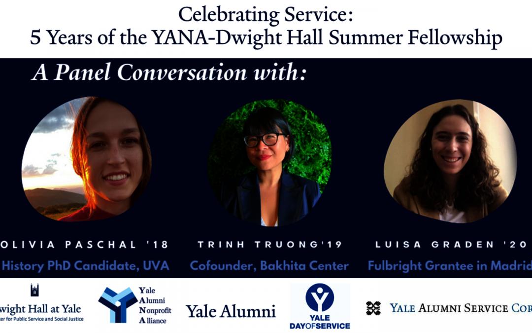 Celebrating Service: 5 Years of the YANA-Dwight Hall Summer Fellowship